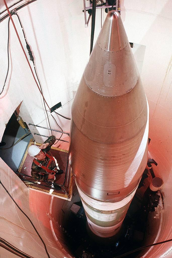 В США состоялся запуск МБР Minuteman III