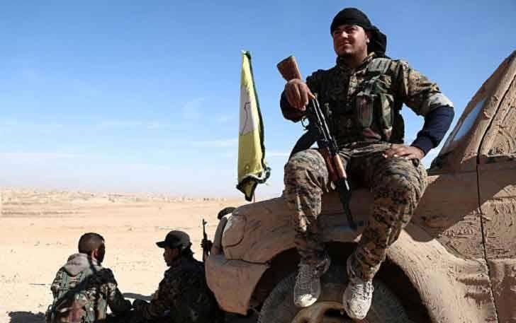 Сирийские курды продвинулись к центру города Табка