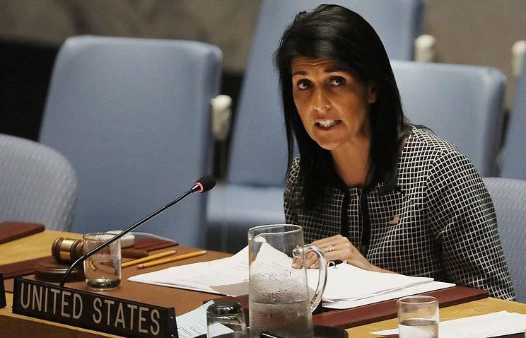 Постпред США призвалаСБ ООН оказать давление на РФ всирийском вопросе