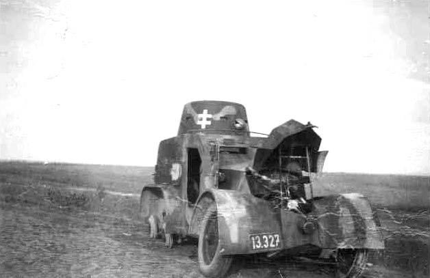 Колёсная бронетехника времён Второй мировой. Часть 1. Чешский бронеавтомобиль OA vz.30