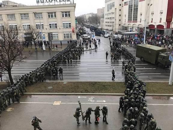 Минские посиделки с арестами