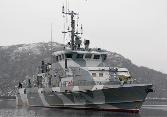 En Rybinsk lanzó el tercer barco anti-sabotaje Grachonok del proyecto 21980