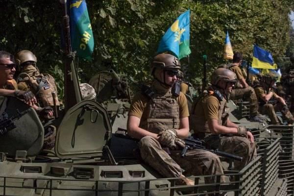 ДНР: Свыше 1 тысячи украинских десантников решили покинуть ряды ВСУ