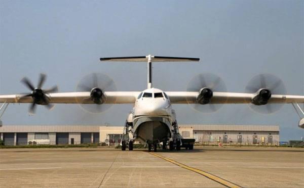 Китай провёл наземные испытания самого большого в мире самолёта-амфибии AG600
