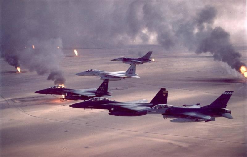 Образцово-показательное уничтожение Ирака