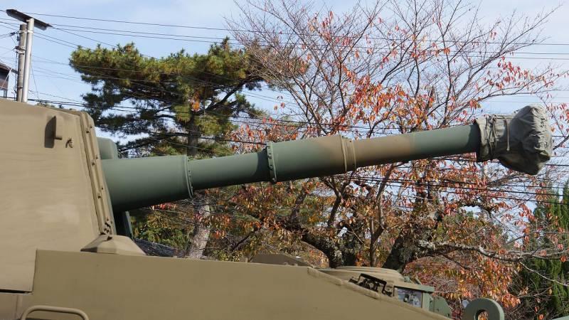 Немного о САУ «Тип 74» (Япония).