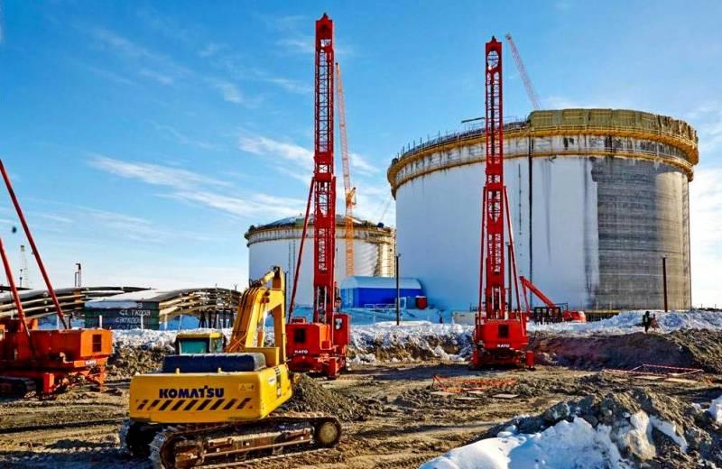 «Ямал СПГ» затягивает газовый узел на шее Запада