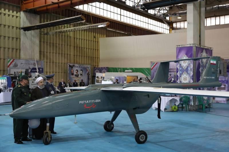 Демонстрация авиационных разработок Ирана