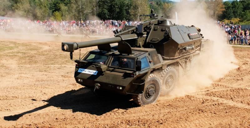 Çek Cumhuriyeti, Dana Howitzers'i yükseltti