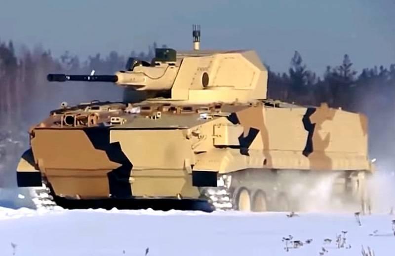 Видео испытаний неизвестного российского боевого модуля