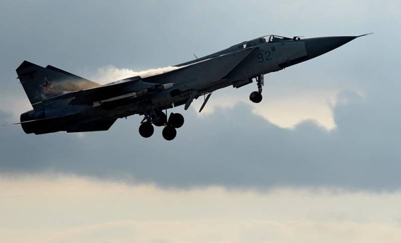 В Бурятии упал истребитель-перехватчик МиГ-31