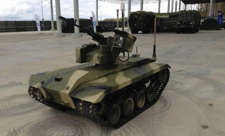 Подробности разработки боевого робота «Нерехта-2»