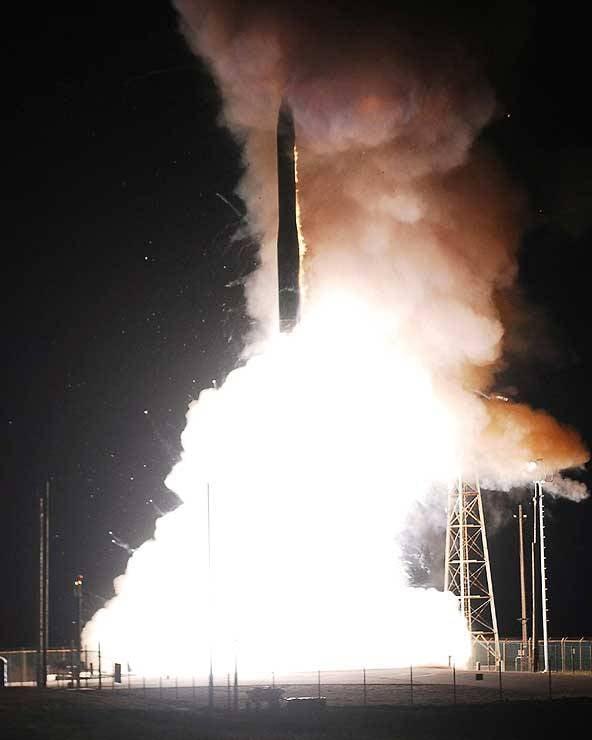 США планируют новый запуск МБР Minuteman III