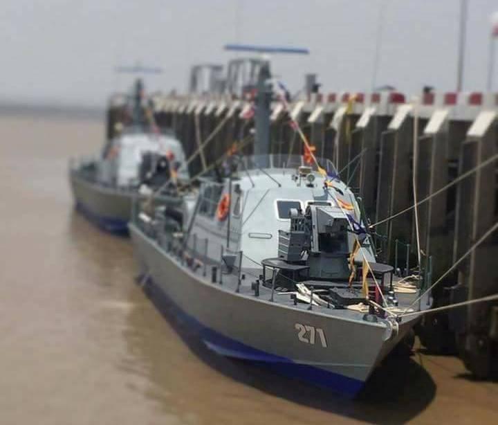 ВМС Мьянмы получили два израильских катера