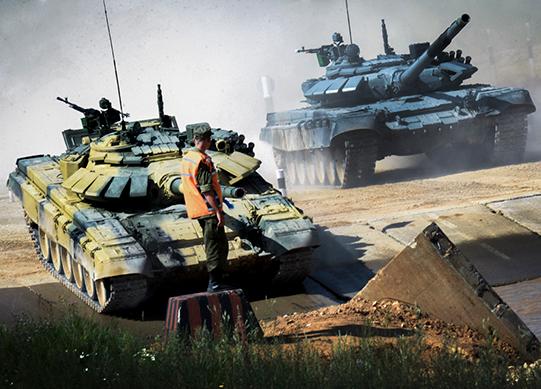 Минобороны РФ продолжит модернизацию танков Т-72 до Т-72Б3