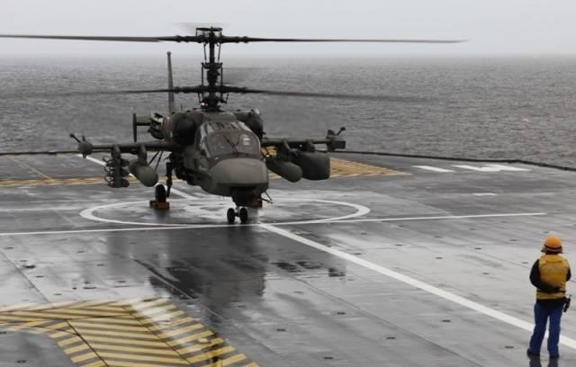 Предварительные испытания Ка-52К