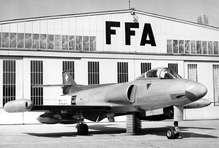 FFA Р-16: опытный многоцелевой швейцарский истребитель