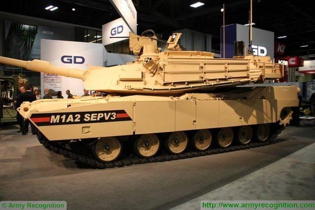 Os Estados Unidos pretendem criar um novo tanque M1A2 SEP v4 Abrams para 2020 ano