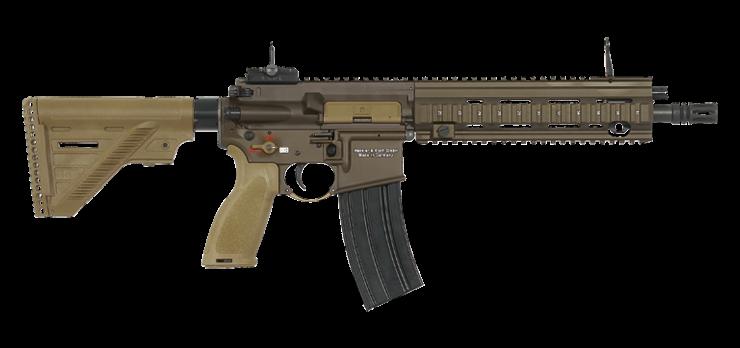 Французская армия начала процесс замены автоматов FAMAS на штурмовые винтовки HK416F