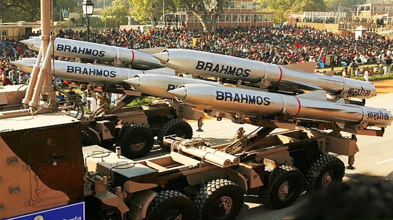 В Индии проведен испытательный пуск ракеты «БраМос»