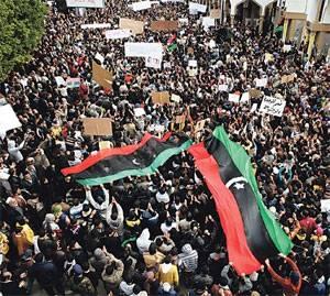 Líbia pontilhada