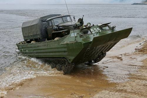"""Driving """"Wave"""" on the shore of the enemy. Part one"""
