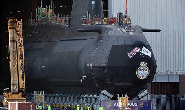 Viertes U-Boot der Esteut-Klasse in Großbritannien gestartet