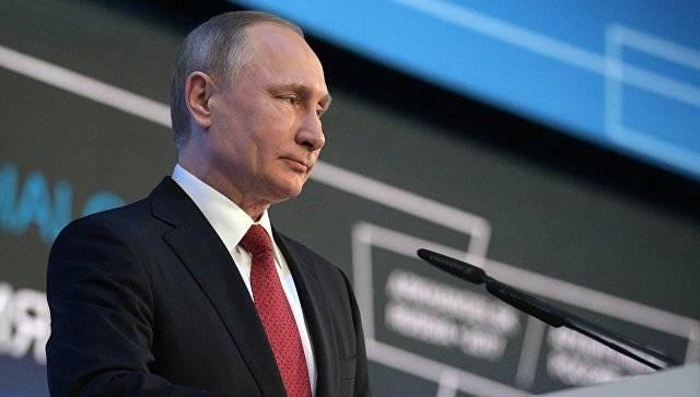 Уровень электоральной поддержки Путина составляет более 60 процентов