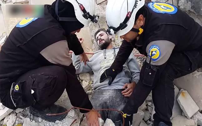 ВСирии «видеобригады» снимали постановочные последствия «химатак»— Центр примиренияРФ