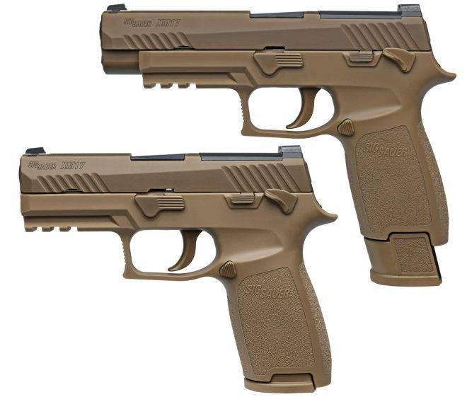 Американские силовики приняли на вооружение  пистолет M17 -  модификацию SIG Sauer P320