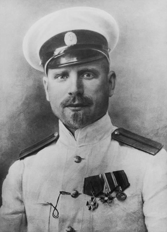 Héros de l'Arctique George Sedov