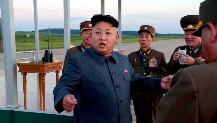 Лидер КНДР приказал артиллеристам сохранять «высшую боевую готовность»