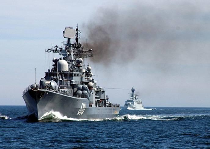 Корабли Балтфлота возвращаются в оперативно важные районы Атлантики