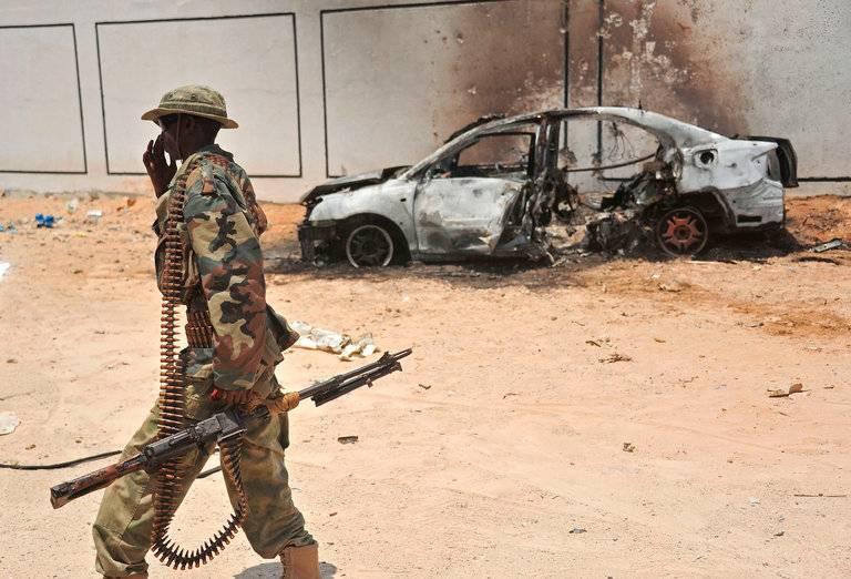 В Сомали впервые за 24 года погиб американский военнослужащий