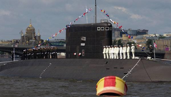 Подлодка «Краснодар» перебазируется наЧерноморский флот