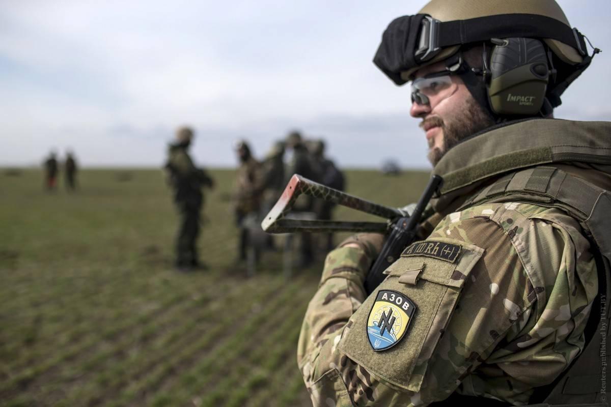 Донбасс: боевики «Азова» вступили вбой с«батальоном Дудаева» под Мариуполем