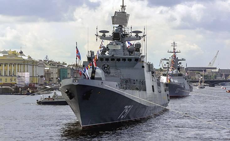 Ненашев объяснил сокращение количества кораблей на военно-морском параде в Петербурге