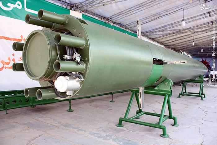 Иран провел испытания новой скоростной торпеды
