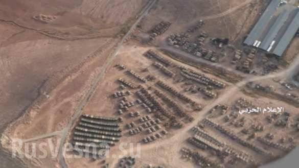 США стянули к границе Сирии бронетехнику