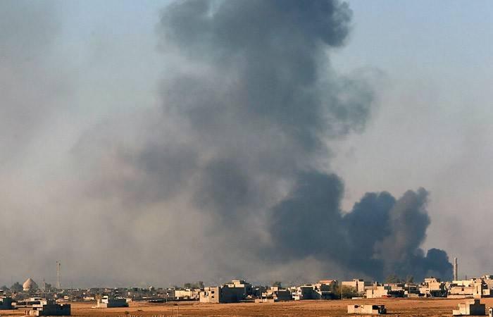 ВВС Сирии нанесли массированный удар по боевикам