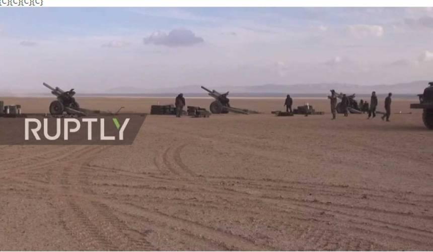Fox News: РФ отправила артиллерию вСирию