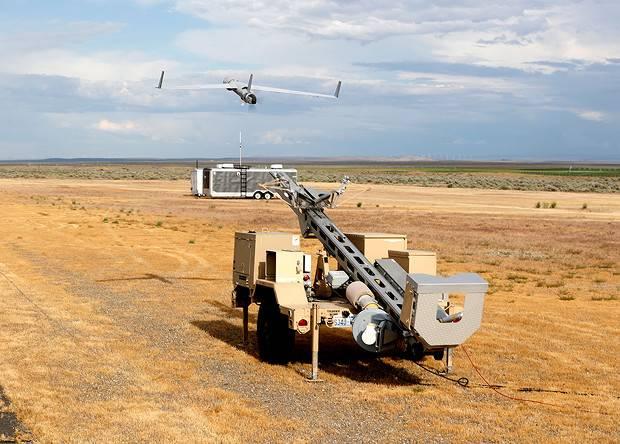 미국 테스트 수정 ScanEagle 수소 연료 전지 UAV