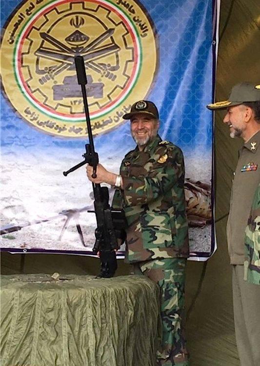 Крупнокалиберная винтовка Heidar (Иран)