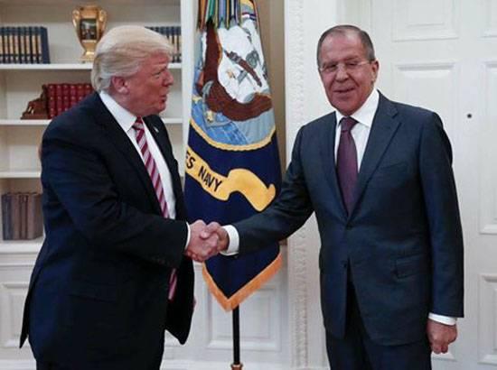 Трамп и Лавров. Встреча состоялась