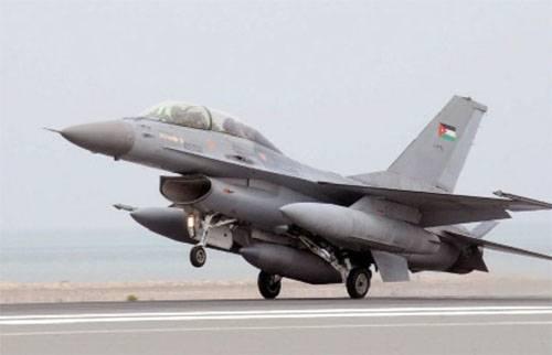 Иордания сбила беспилотник, патрулировавший сирийско-иорданскую границу