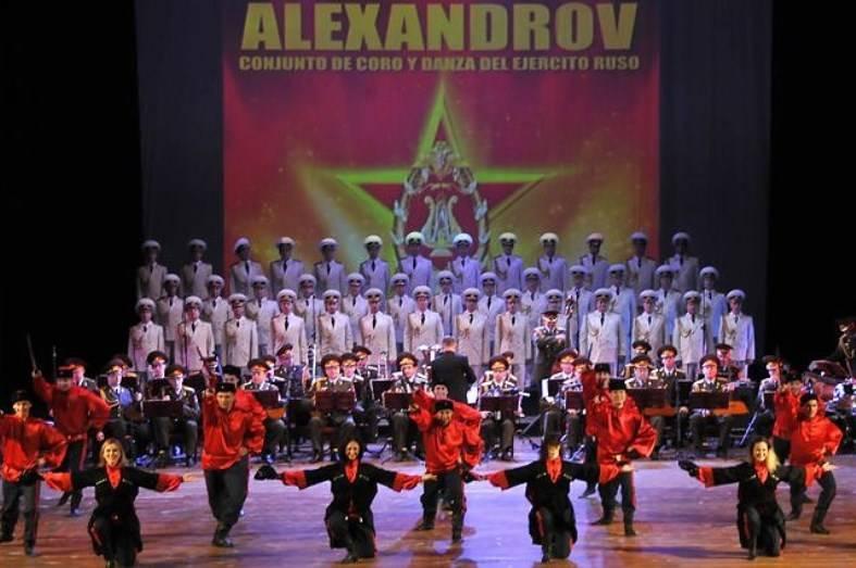 Возрожденный Ансамбль имени Александрова отправился вгастрольный тур поЕвропе