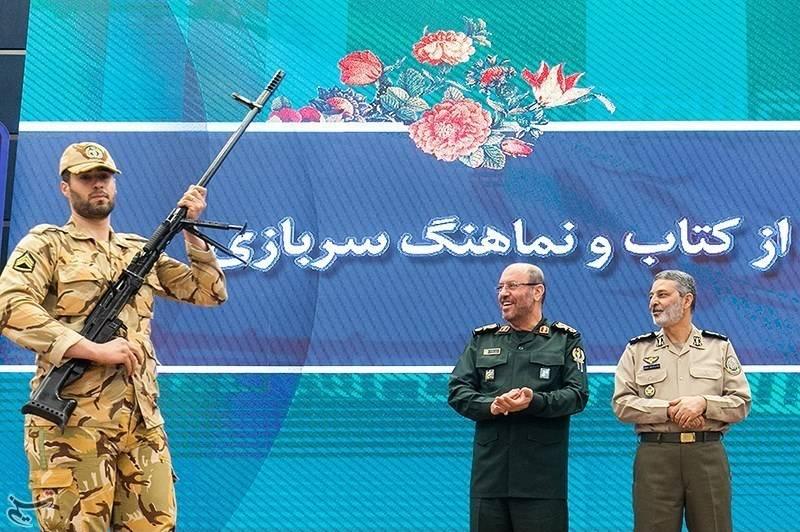 В Иране представили копии ОСВ-96 и АК-103