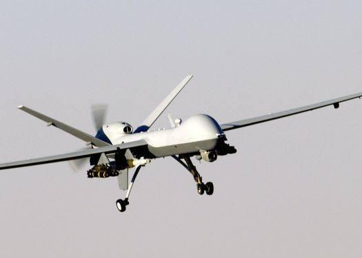 Американский БЛА MQ-9 применил бомбы с наведением по GPS