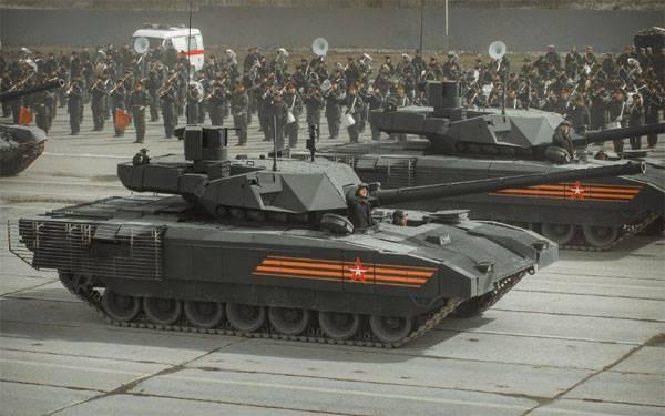 """СМИ получили сведения о том, кто первым в ВС РФ получит танки Т-14 """"Армата"""""""