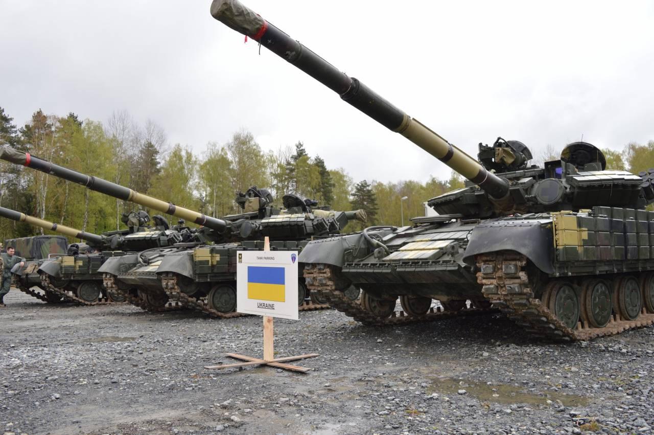 Украинские танкисты заняли предпоследнее место втанковом биатлоне НАТО